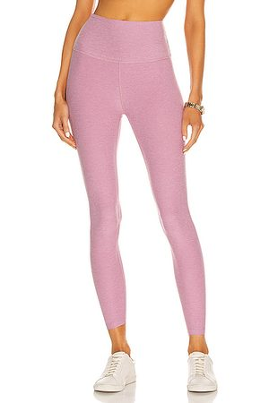 Beyond Yoga Women Trousers - Spacedye Caught In The Midi High Waisted Legging in Orchid Haze