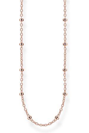Thomas Sabo Necklaces - Round belcher chain rose rose -coloured KE1890-415-40-L42V