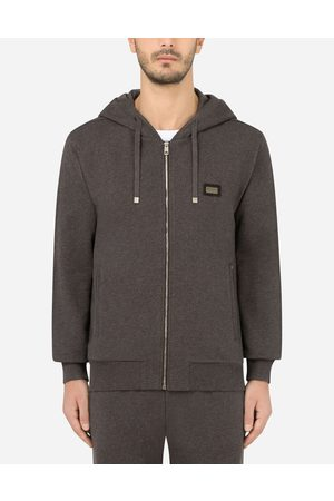 Dolce & Gabbana Men Hoodies - Collection - COTTON JERSEY HOODIE male 44