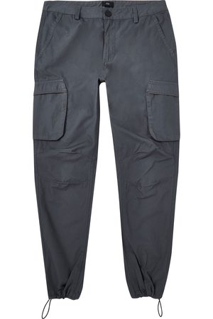 River Island Men Cargo Trousers - Mens cargo utility skinny fit trousers