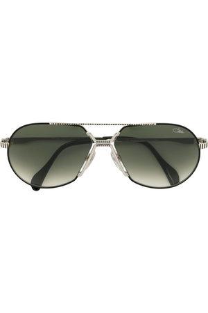 Cazal Tinted aviator frame sunglasses - Metallic