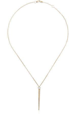 Melissa Kaye Women Necklaces - 18kt yellow Aria diamond necklace