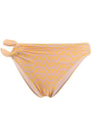 Self-Portrait Women Bikinis - Geometric pattern bikini bottoms