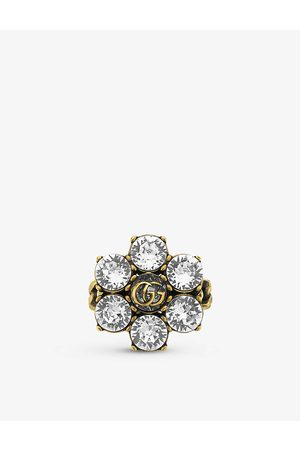 Bague - Statement Ring -Cubic Zirconia Ring Squillare Stunning Ring Golden Ring