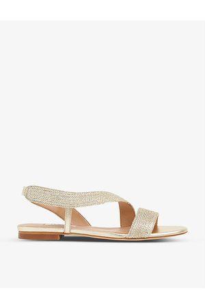 LK Bennett Rachel open-toe canvas sandals