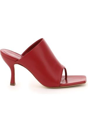 GIA PERNI 02 THONG MULES 36 Leather