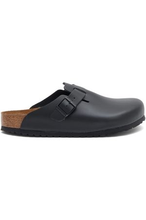 Birkenstock Boston Leather Sandals - Mens