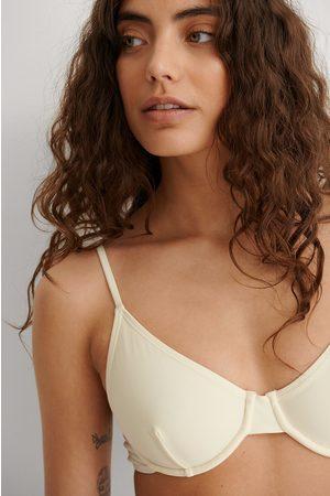 NA-KD Women Bikinis - Recycled Bikini Bra - Offwhite