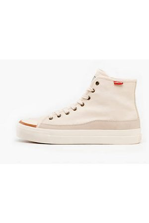 Levi's Square High Sneakers - / Ecru