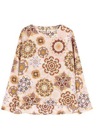 MOMONÍ Women Blouses - Monza blouse in printed crepe de chine