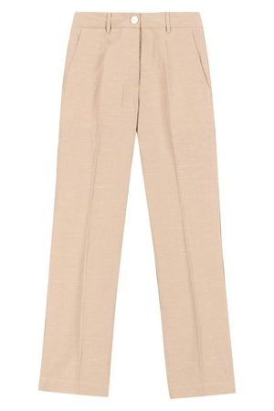 MOMONÍ Women Trousers - Indra trousers in linen silk