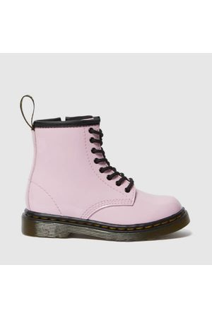 Dr. Martens Kids Boots - Toddlers' 1460 Patent Lamper Lace Up Boots