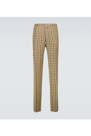 Fendi Interlace FF printed pants