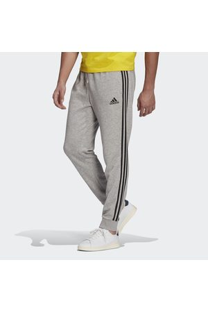 adidas Essentials French Terry Tapered Cuff 3-Stripes Joggers