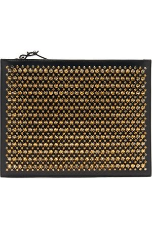 Christian Louboutin Pifpouch Studded Leather Clutch - Mens - Multi