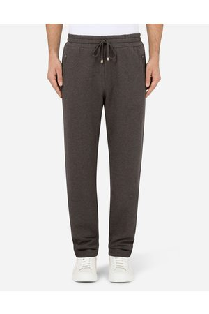 Dolce & Gabbana Men Trousers - Trousers and Shorts - COTTON JOGGING PANTS male 44