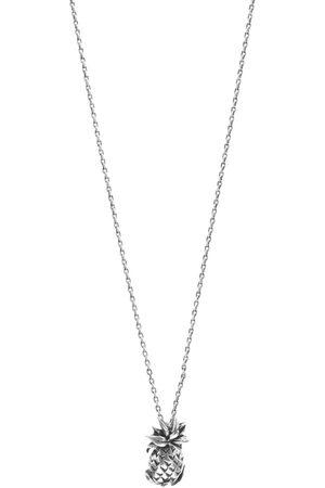 Saint Laurent Pineapple Pendant Necklace