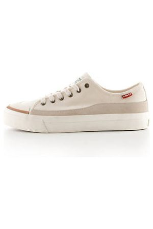 Levi's Square Low Sneakers - / Ecru