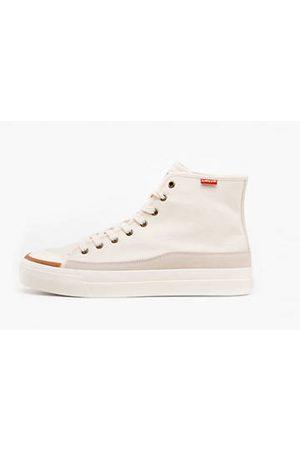 Levi's Square High Sneakers - / Ecru