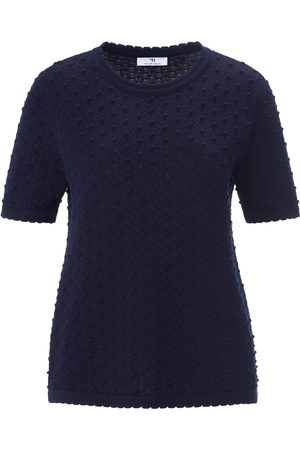 Peter Hahn Women Jumpers - Round neck jumper in 100% cotton size: 10