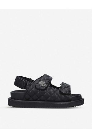 Kurt Geiger Orson quilted leather sandals
