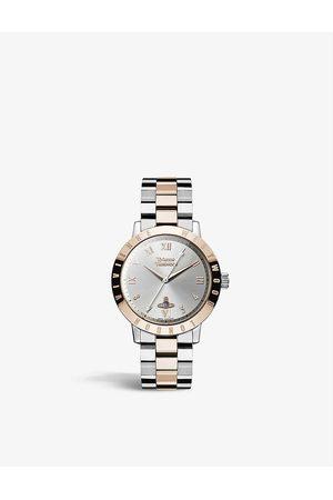 Vivienne Westwood Watches VV152RSSL Bloomsbury two-tone stainless-steel quartz watch