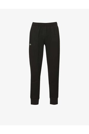 Lacoste Logo-embroidered cotton-jersey jogging bottoms