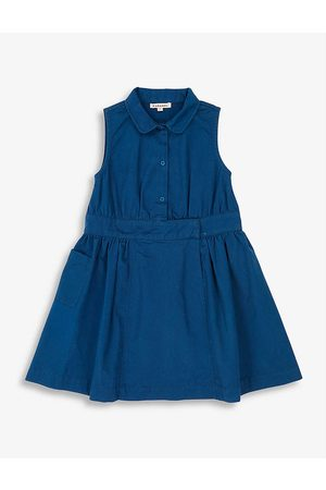 Caramel Penguin sleeveless stretch-cotton dress 3-12 years