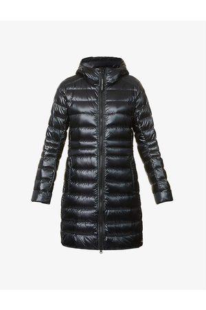 Canada Goose Women Jackets - Cypress hooded shell-down jacket