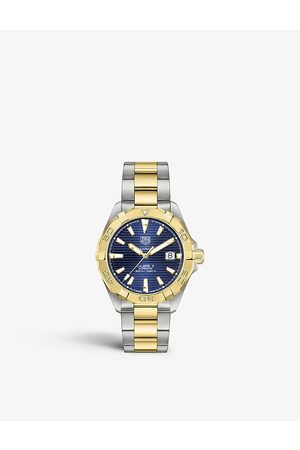 Tag Heuer WBD2120.BB0930 Aquaracer stainless steel and 18ct yellow gold-plated watch