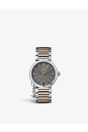Vivienne Westwood Watches VV246GYSR Poplar stainless-steel quartz watch