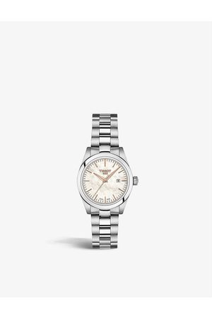 Tissot T132.010.11.111.00 T-My Lady mother-of-pearl and stainless steel watch