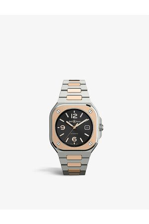 Bell & Ross BR05A-BL-STPG/SSG stainless steel and 18ct rose- automatic watch