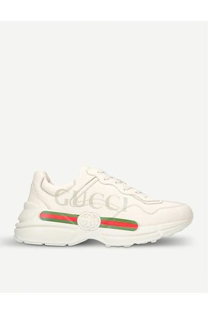 Gucci Women Sports Shoes - Ladies Rhyton Leather Running Trainers