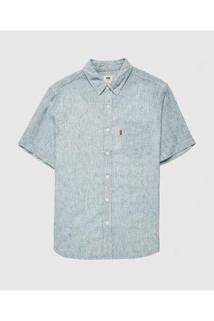 Levi's Men Tops - Men's Levis Linen Mix Shirt
