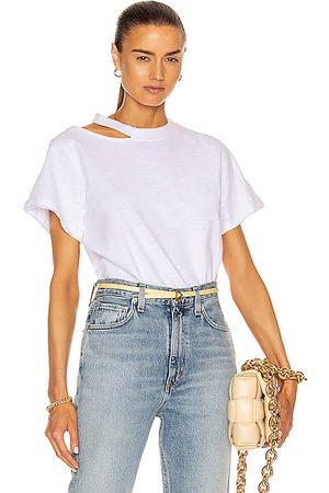 Marissa Webb Women T-shirts - Tate Cut Out Tee in