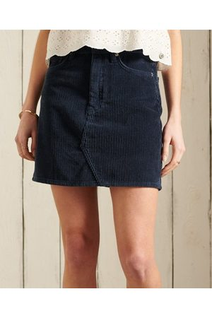 Superdry Cord Mini Skirt
