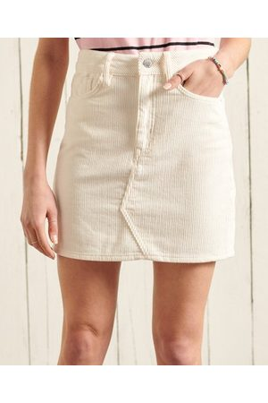 Superdry Women Mini Skirts - Cord Mini Skirt