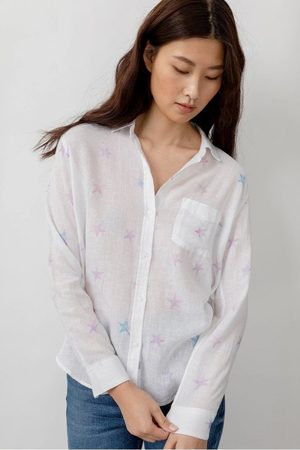 Rails Charli Shirt in Tie Dye Stars