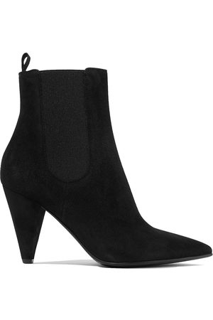 Gianvito Rossi Woman Suede Ankle Boots Size 35