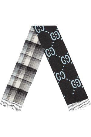 Gucci Men Scarves - GG wool scarf
