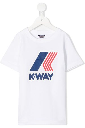 K-Way Boys Short Sleeve - Logo print T-shirt