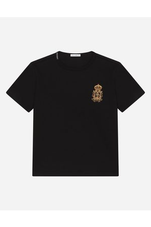 Dolce & Gabbana Collection - Jersey T-shirt with heraldic DG patch male 2