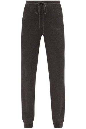 Missoni Women Trousers - Ribbed Lurex-knit Track Pants - Womens