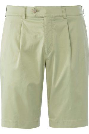 Brax Men Bermudas - Bermuda shorts Perfect Cut waist pleats size: 32