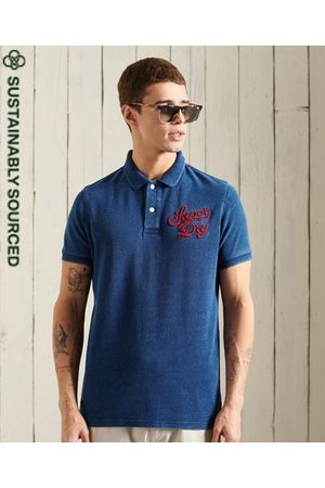 Superdry Organic Cotton Short Sleeve Superstate Polo Shirt