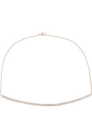 Dana Rebecca Designs 14kt rose Ave Bea Miracle diamond necklace