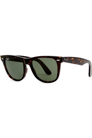 Ray-Ban Men Sunglasses - Tortoiseshell Wayfarer Sunglasses