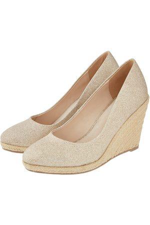 Monsoon Ella Espadrille Wedge Shoe