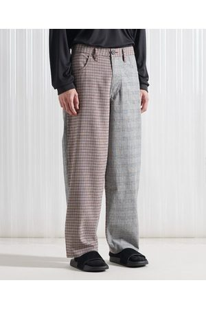Superdry SDX Limited Edition SDX Unisex Mixed Check Trousers